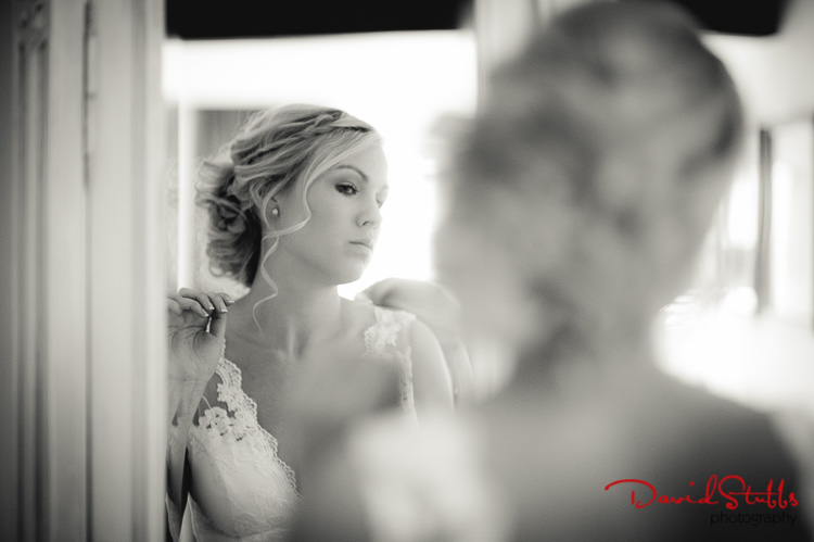 bride preparation photo at Great John Street Hotel in Manchester