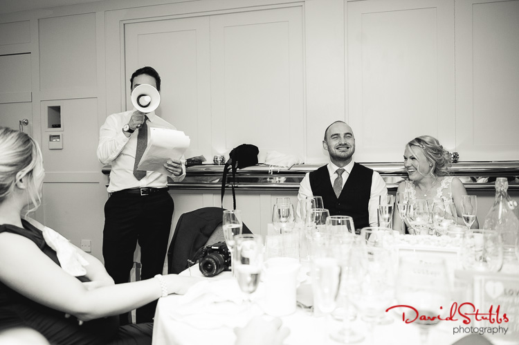 the best man gives his speech