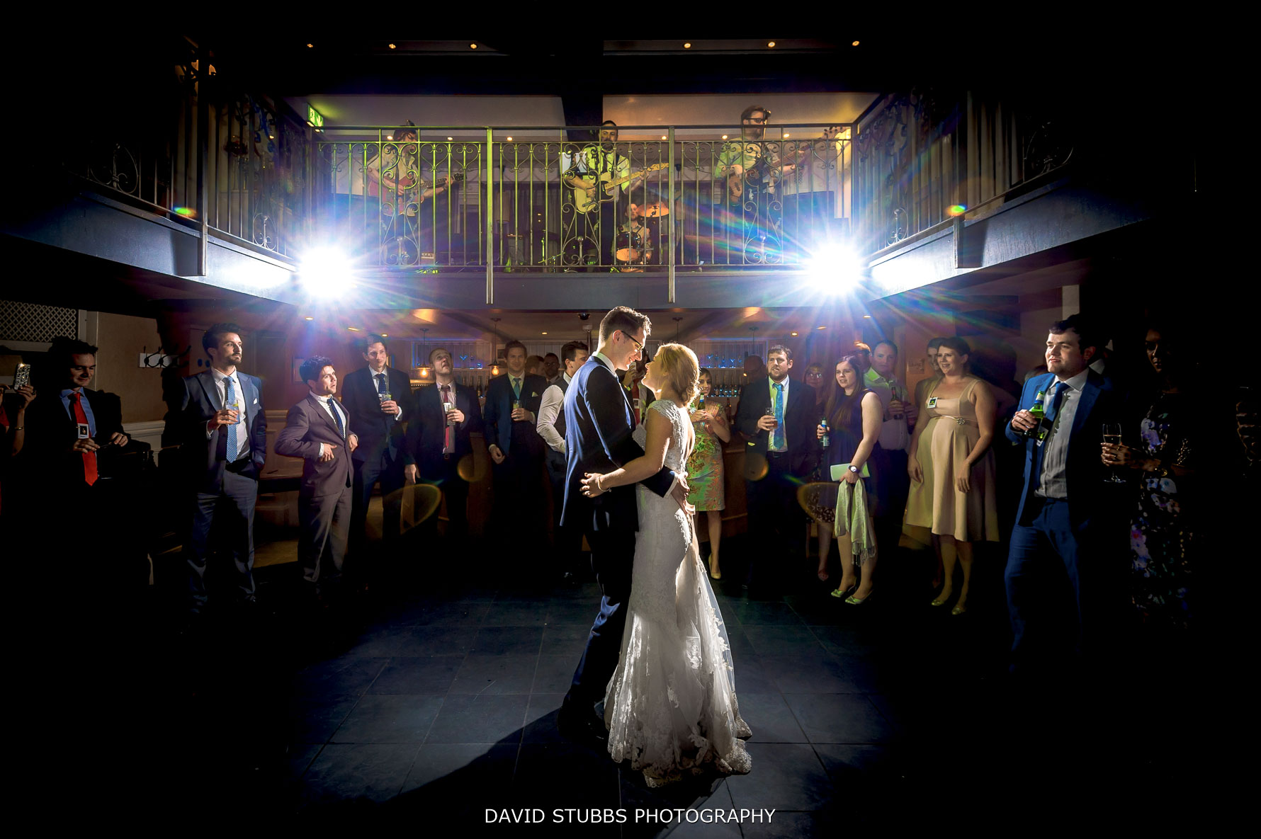 oyster bar first dance at Great John Street Hotel