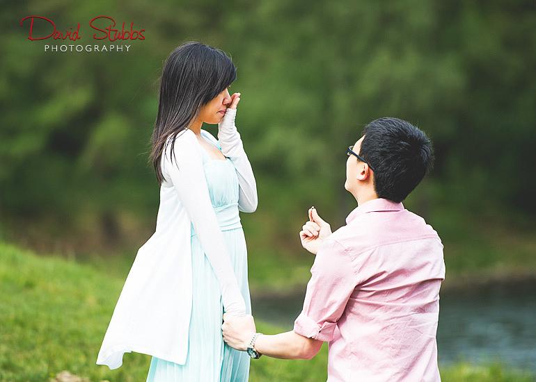shocked at wedding proposal