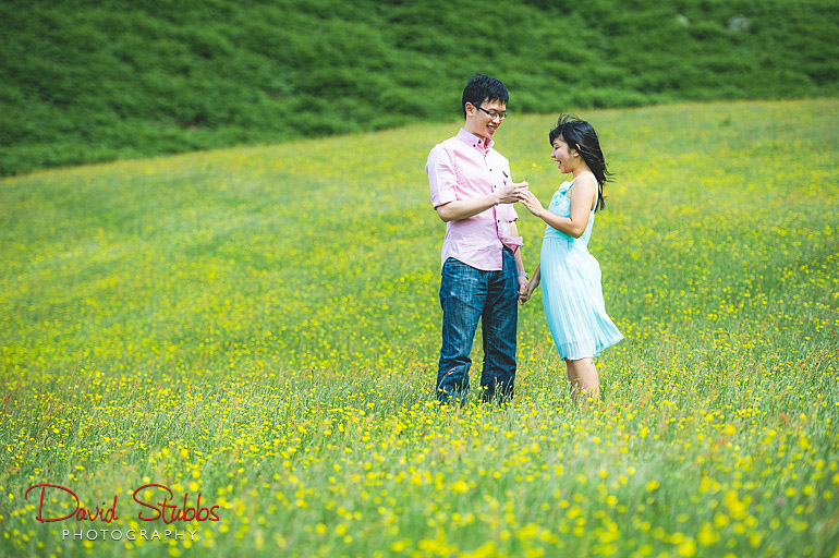 buttercup engagement photography
