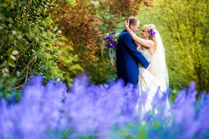 colour bride groom portrait