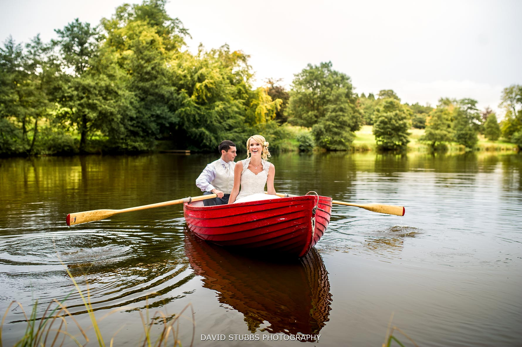 boat at Browsholme hall