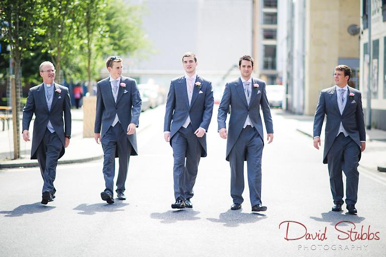 groomsmen in manchester