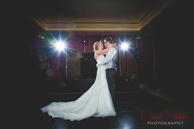 first dance at the mere resort and spa