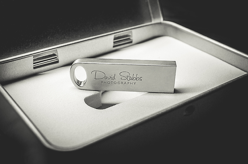 flash Bay USB drive wedding photography