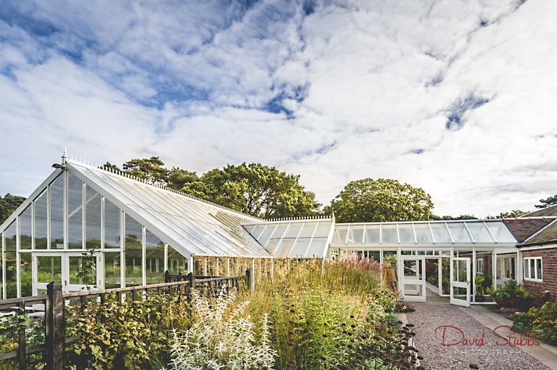 glass house from outside