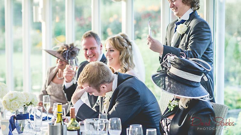 speeches making groom blush