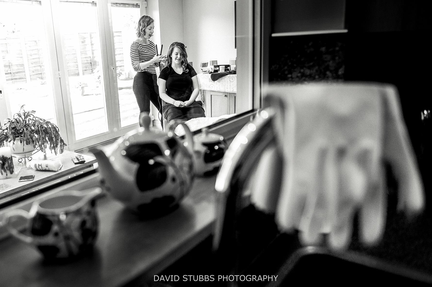 bridal preparations at parents house
