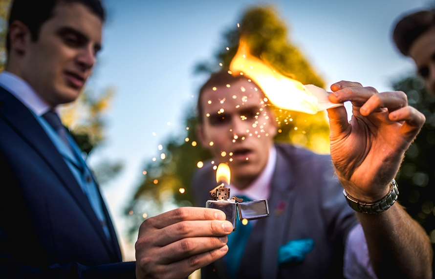 sam fitton wedding magician