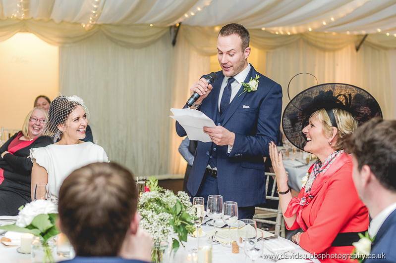 wedding speeches - groom