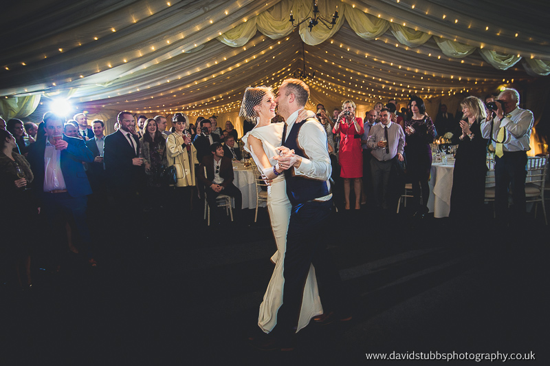 first dance time for the couple