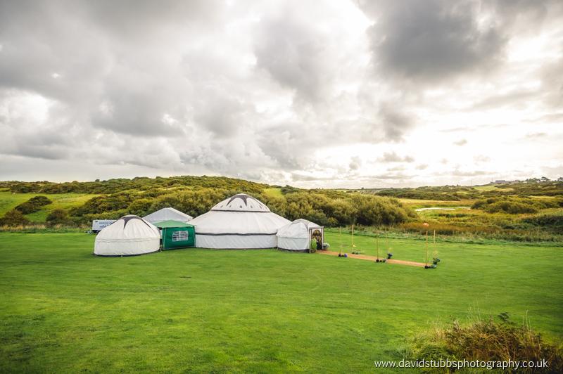 wedding in a yurt