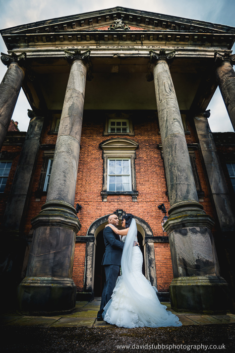 low angle photography at adlington hall