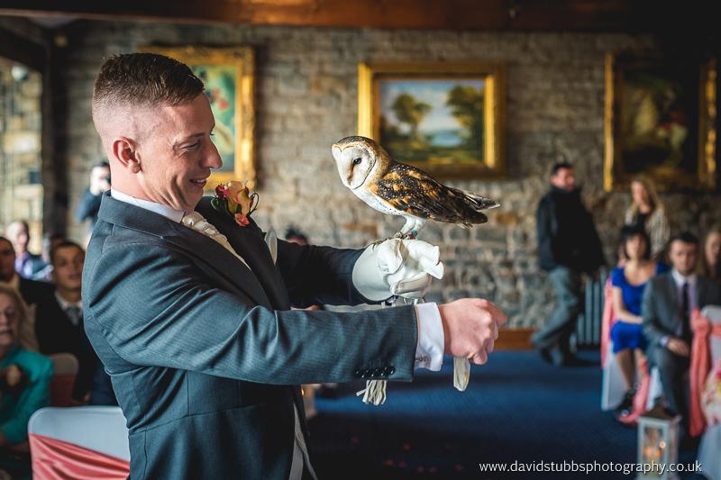 owl brings the rings