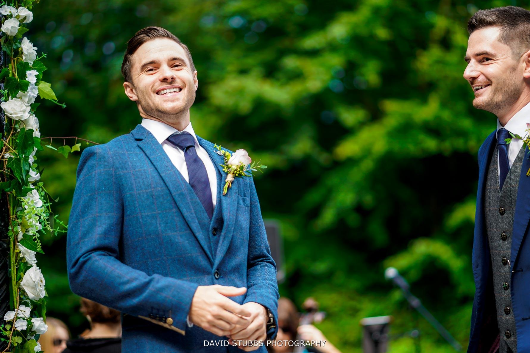 chris the groom waiting