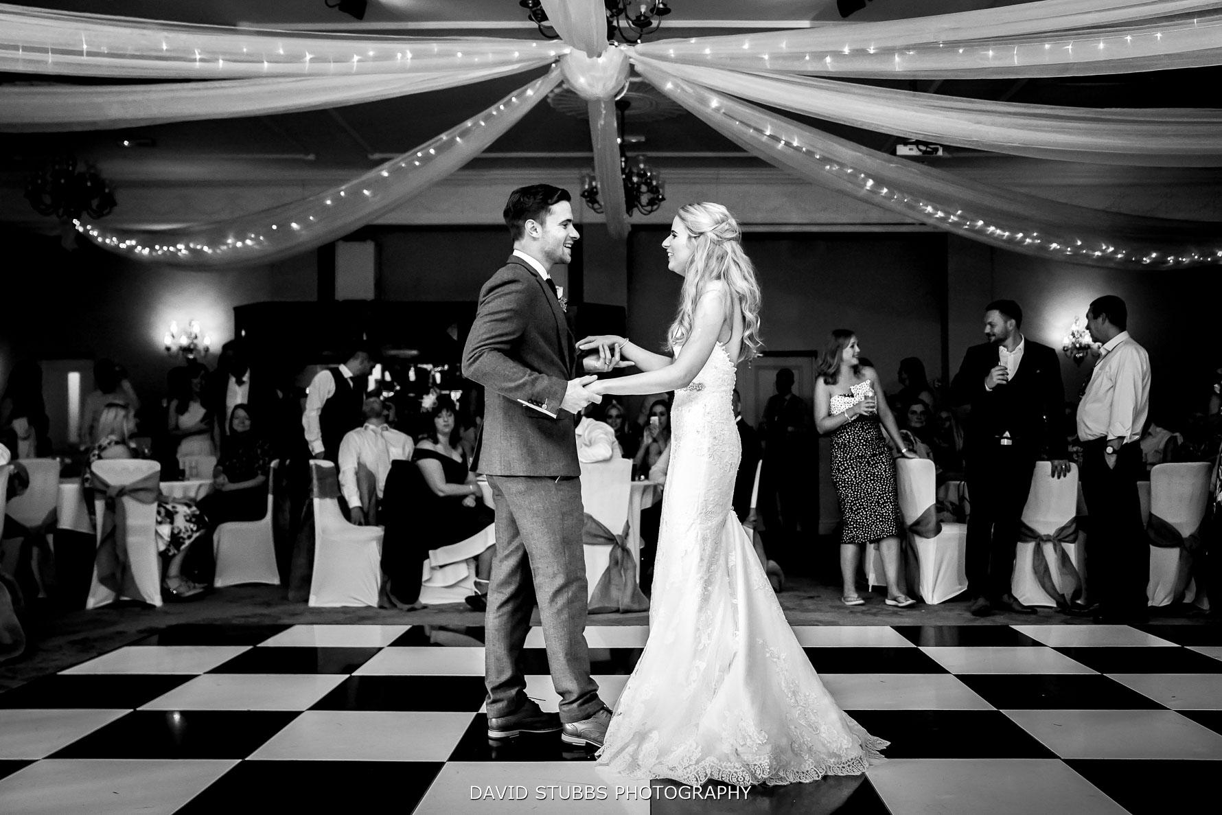 first dance on the dance floor