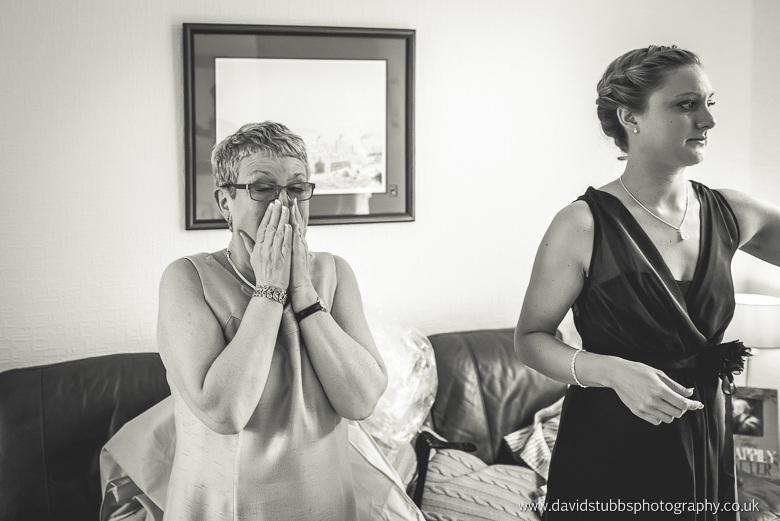 mum crying seeing her daughter