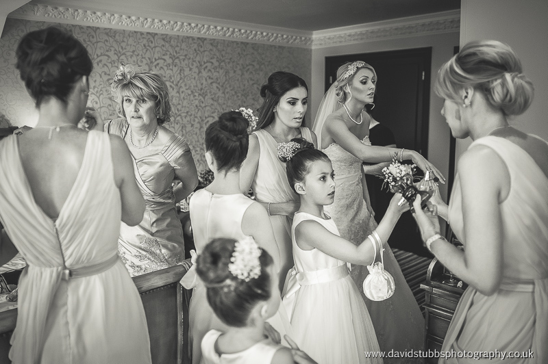 bridal preperation wedding photography