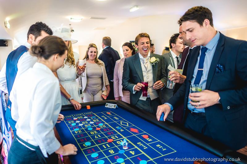 casino at warnock wedding