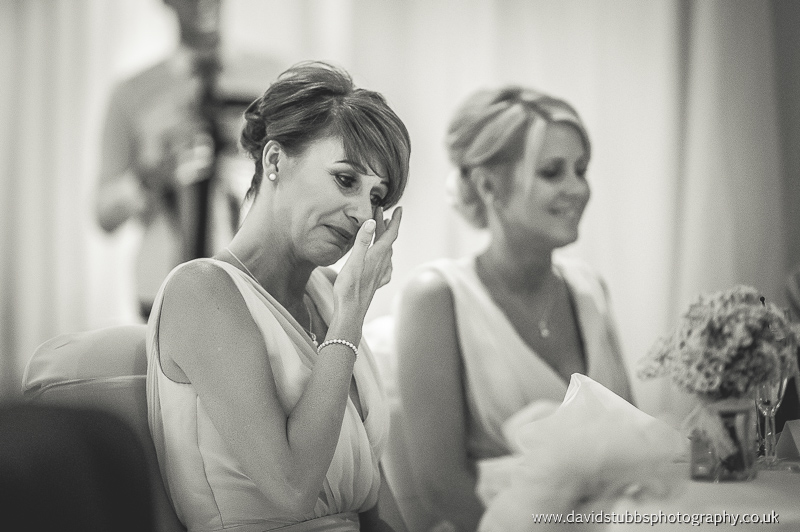 tears during the speeches