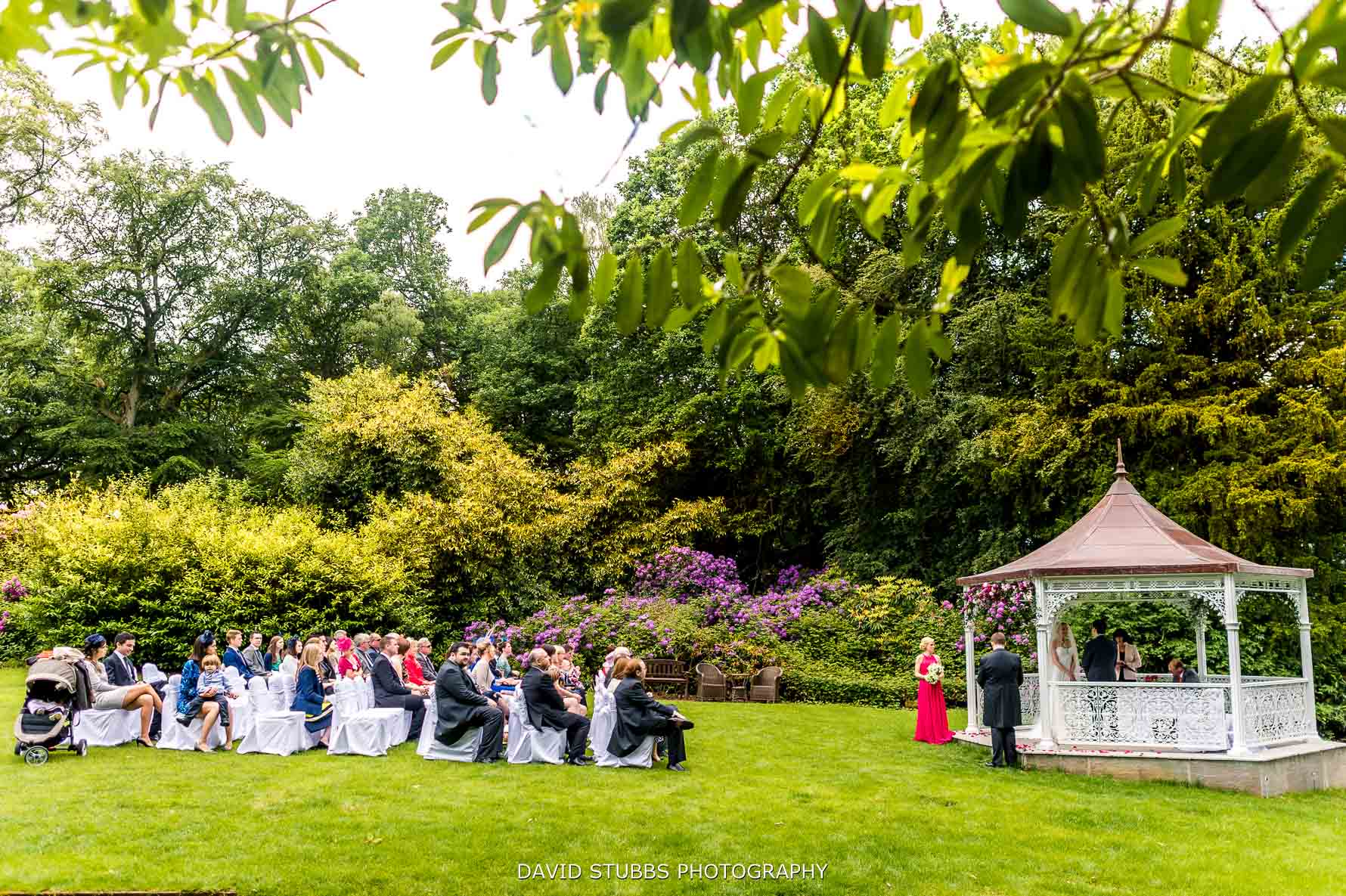 wide photo of outdoor ceremony