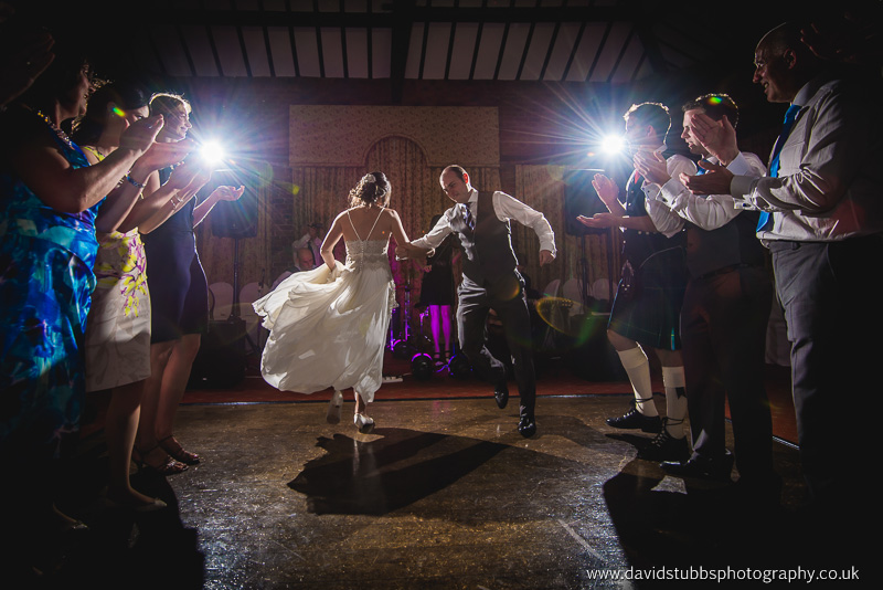 first dance in full colour at their wedding