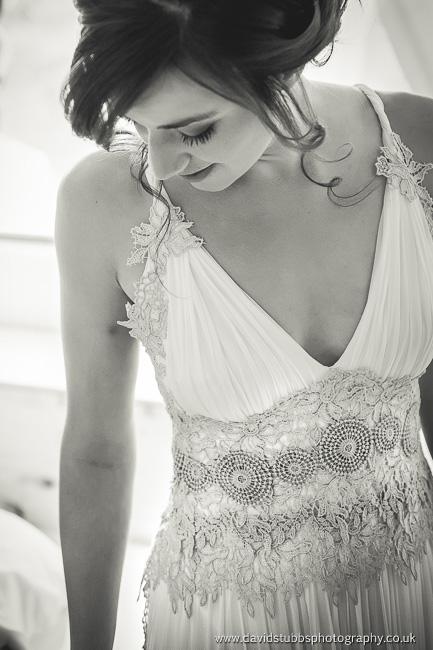 stunning photo of bride