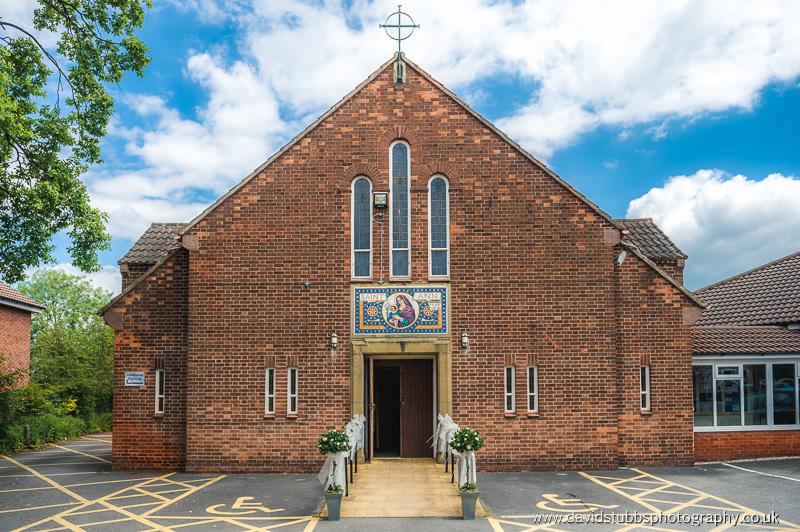 the church before adlington hall