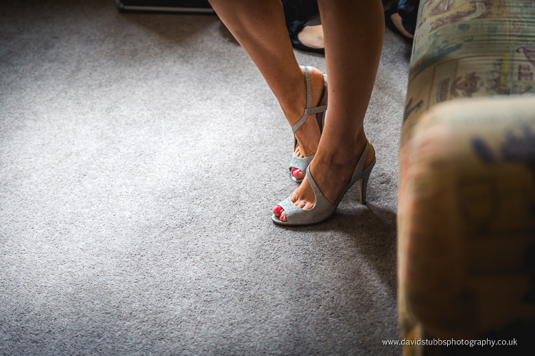 fitting into her shoes