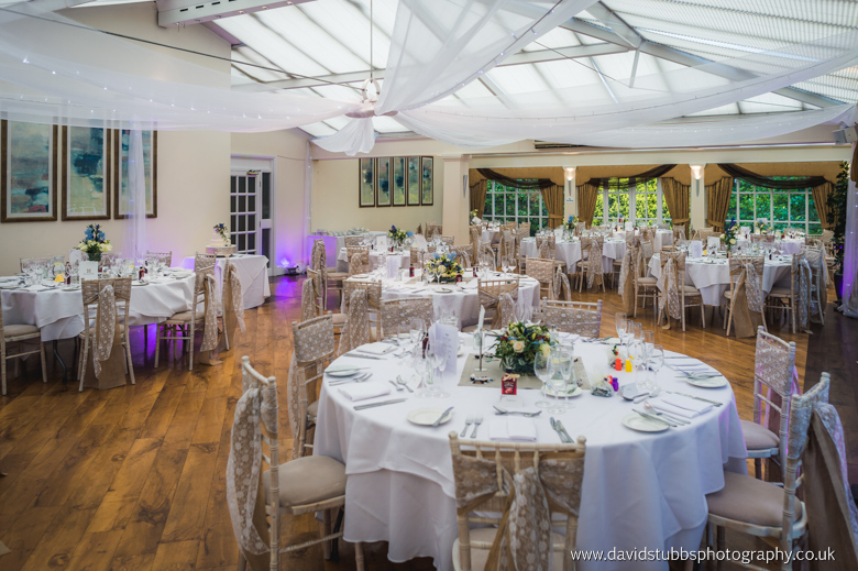 wedding breakfast at mere court