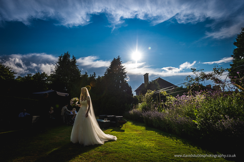 bride and blue sky william cecil photograph