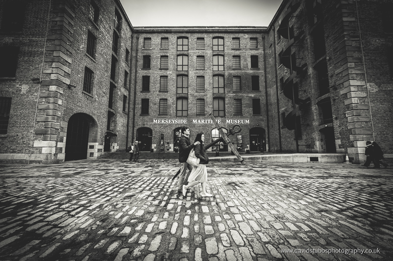 courtyard liverpool black and white
