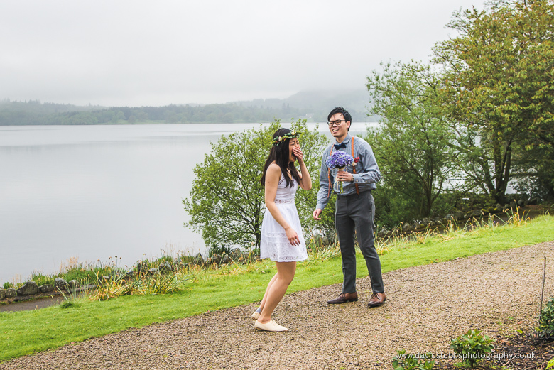 proposal by lake
