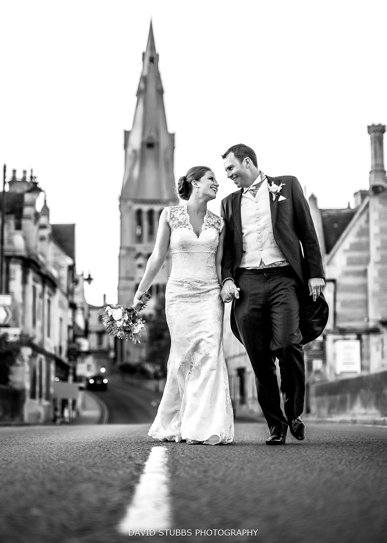 newlyweds in Stamford photos