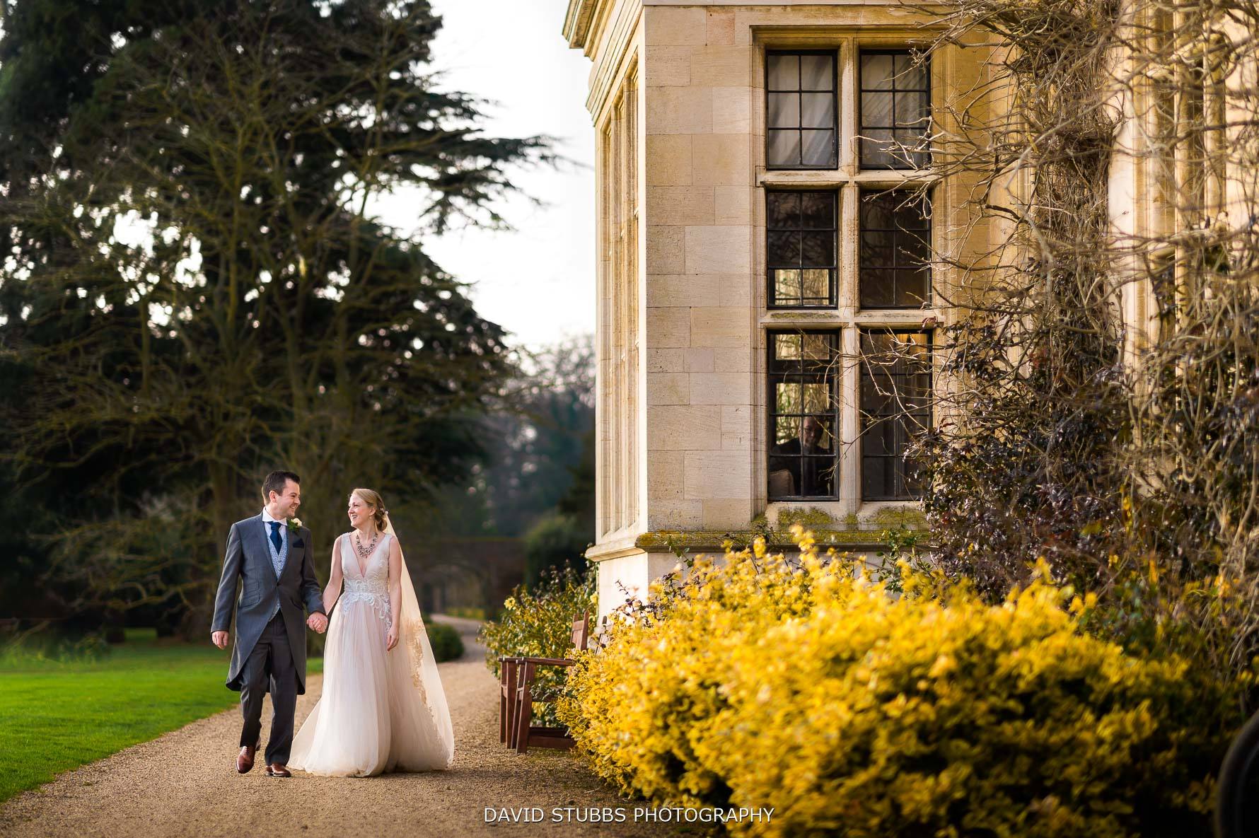 Stapleford park wedding photo