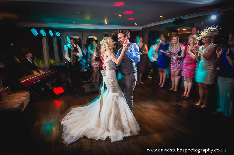 couple on dance floor