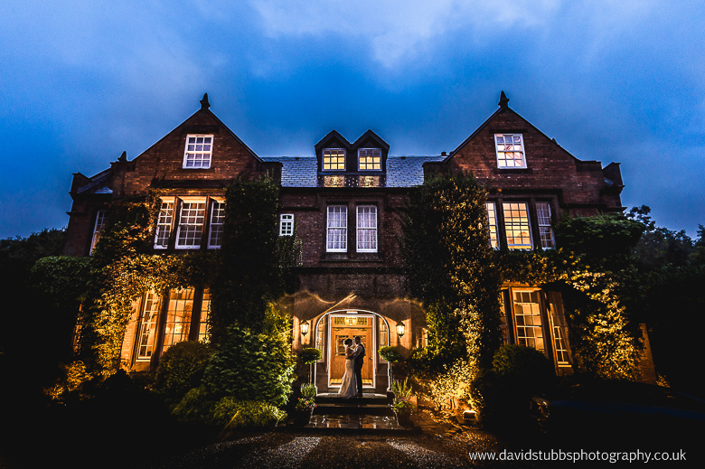 nunsmere hall at night