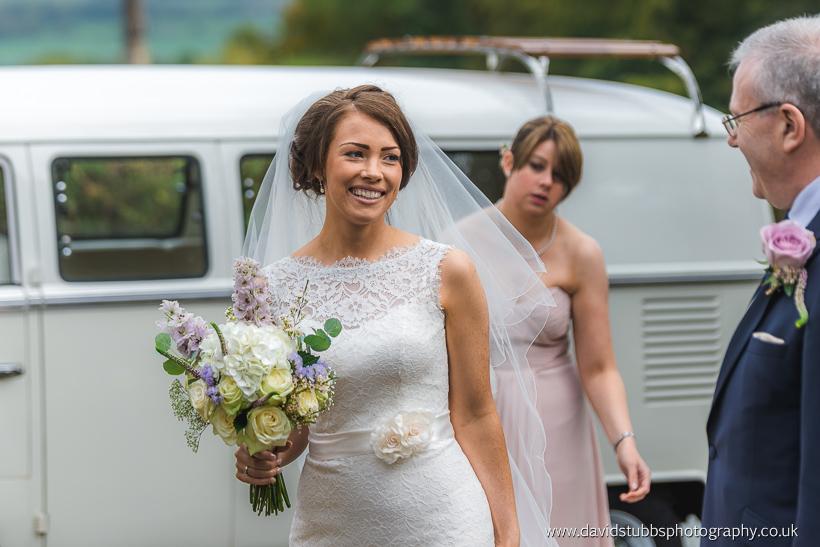 woman before wedding ceremony