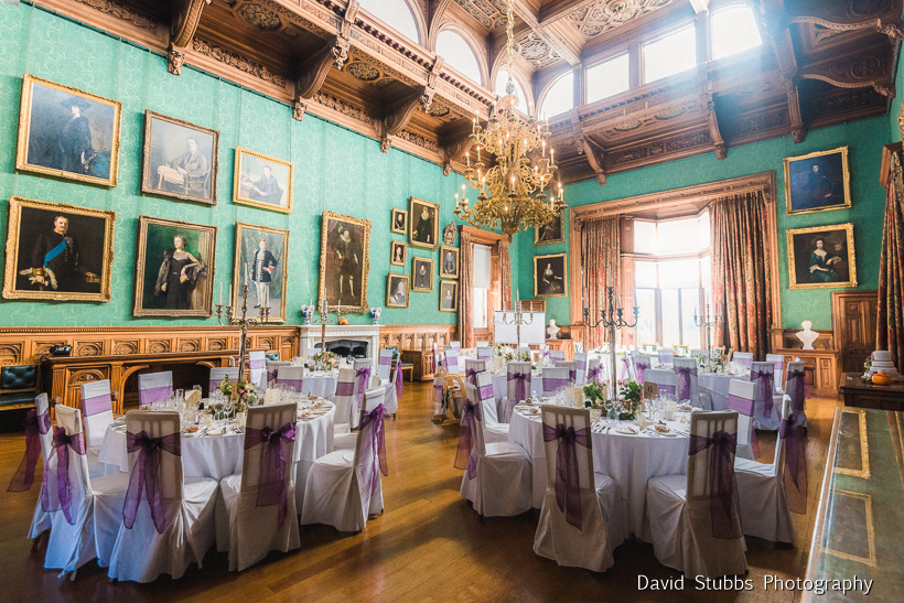 wedding reception at knowsley hall