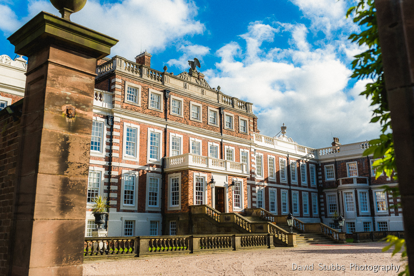 Knowsley Hall wedding reception venue