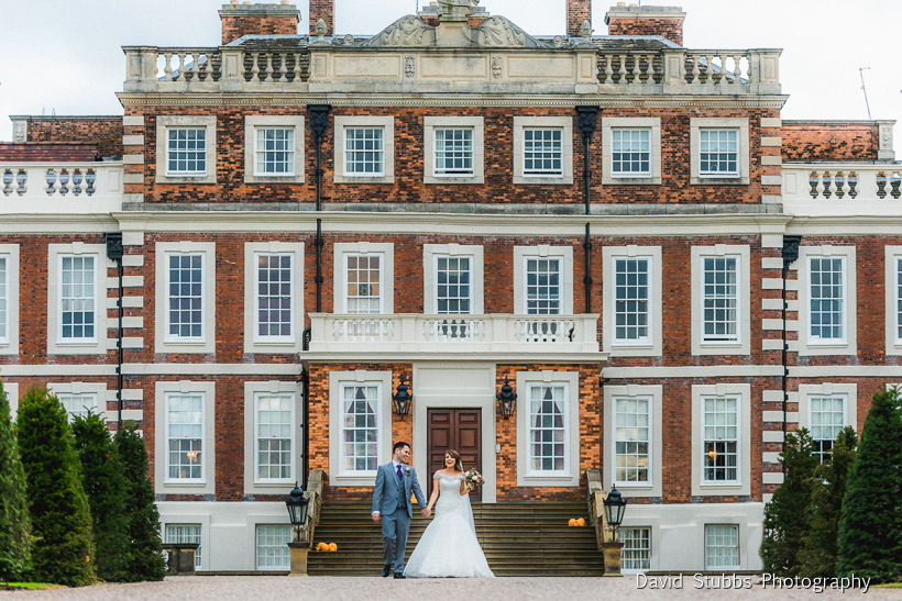 wedding at Knowsley Hall photography