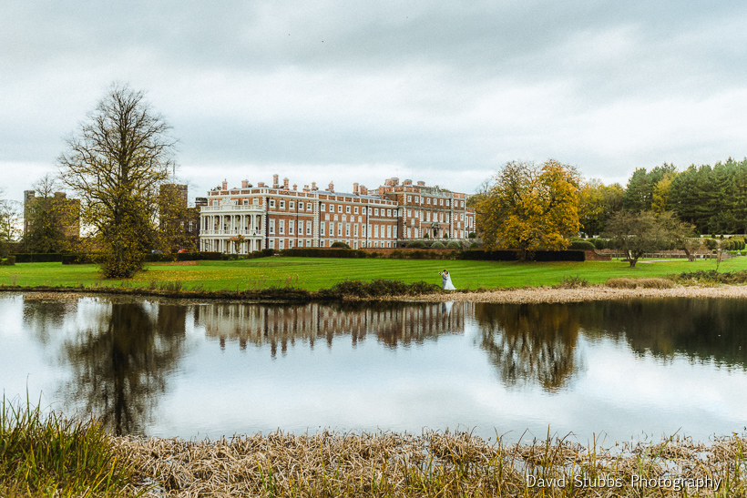 lake photograph Knowsley Hall