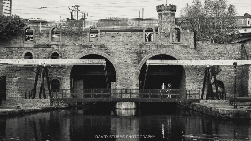 deansgate locks black and white