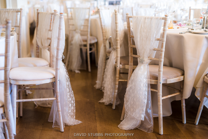 photo of chairs at wedding