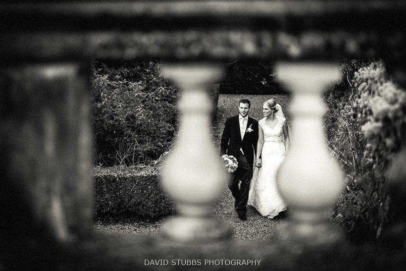 woman and groom black and white photo ribble valley wedding photographer