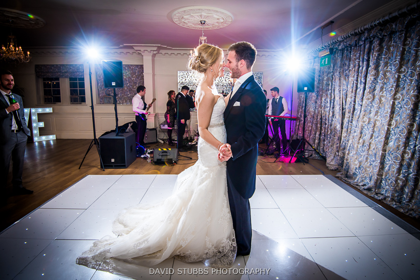 colour photo of first dance