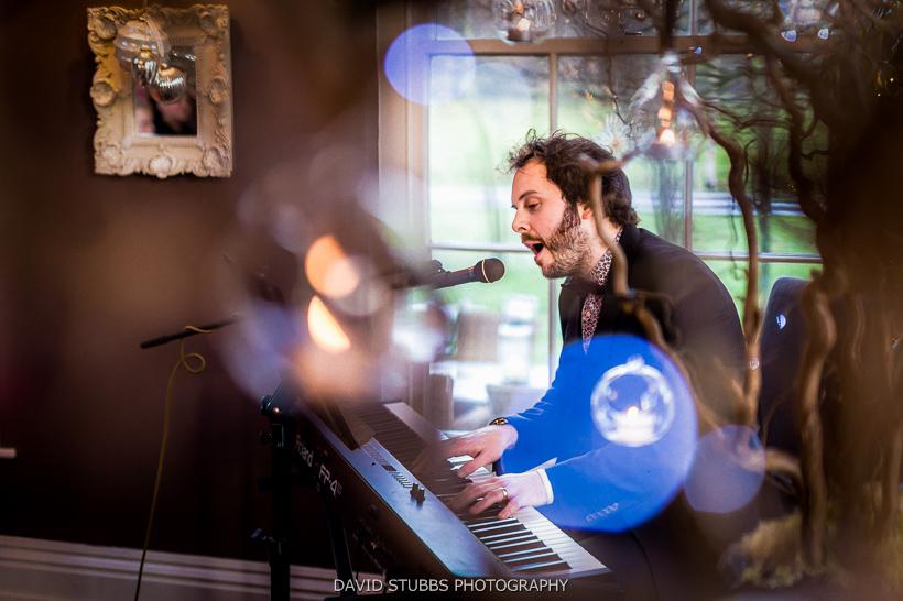 pianist at yorebridge house wedding