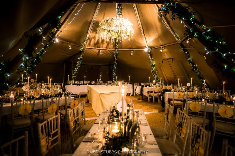 tables at papakata wedding