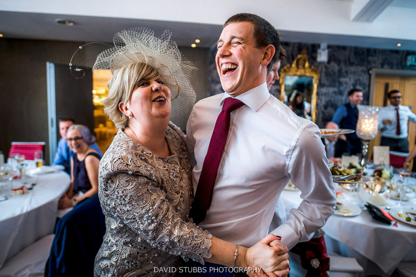 mum dancing with man
